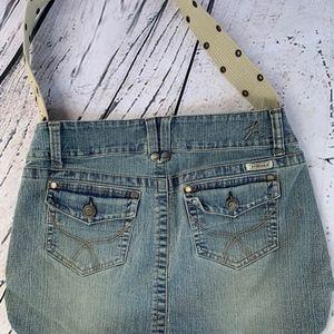 Hydraulic Jeans Hobo Hippie Style Denim Bag